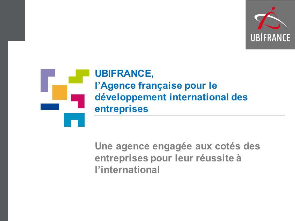 UBIFRANCE, l'Agence française pour le développement international des entreprises