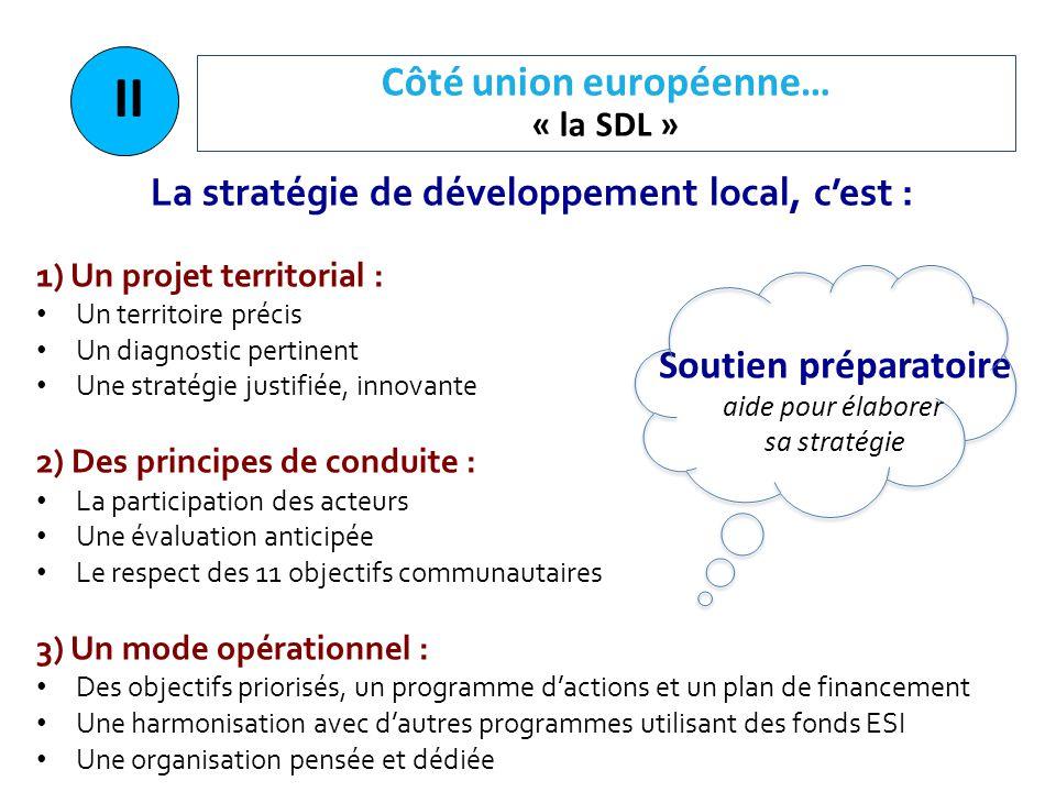 Côté union européenne… « la SDL »