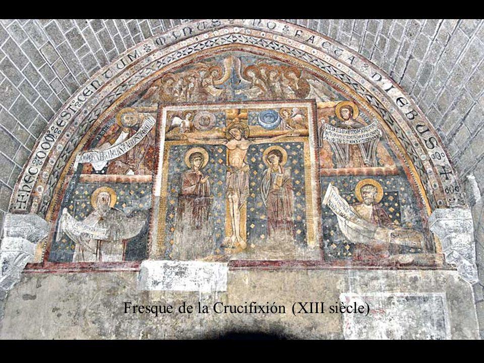 Fresque de la Crucifixión (XIII siècle)