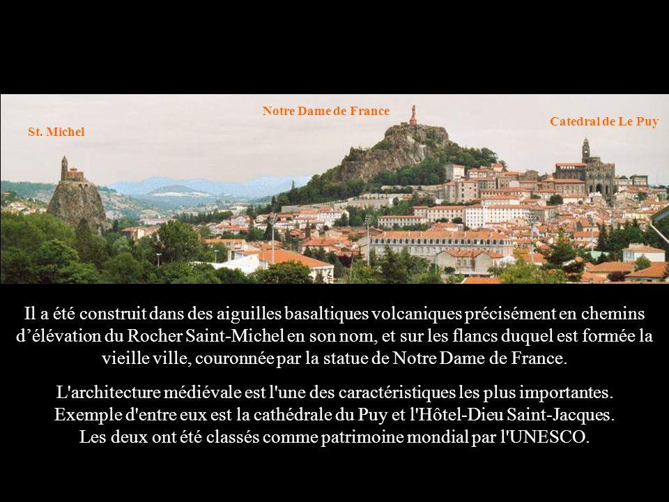 Notre Dame de France Catedral de Le Puy. St. Michel.