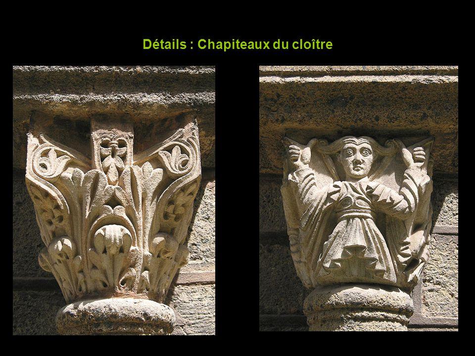 Détails : Chapiteaux du cloître