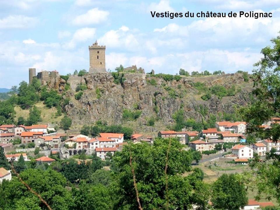 Vestiges du château de Polignac