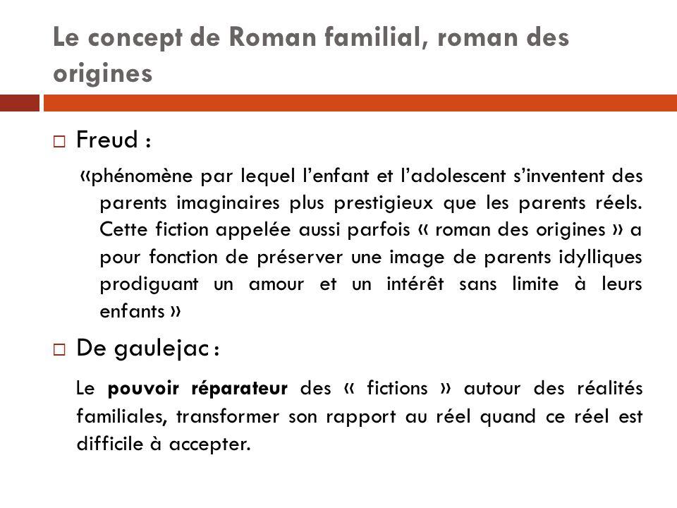 Le concept de Roman familial, roman des origines