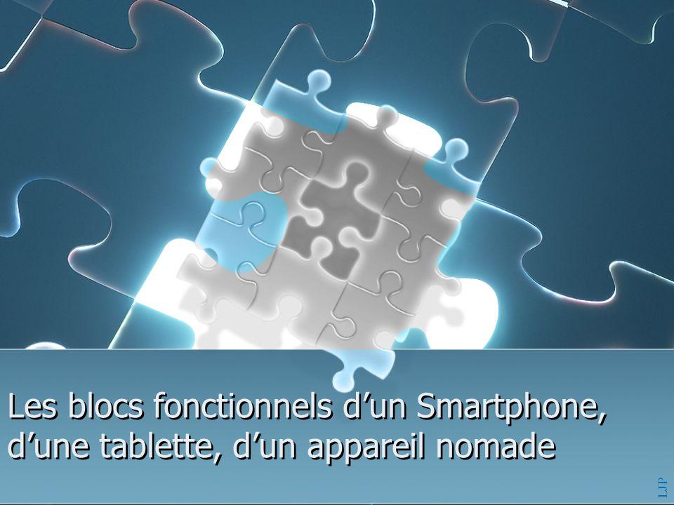 Les blocs fonctionnels d'un Smartphone, d'une tablette, d'un appareil nomade
