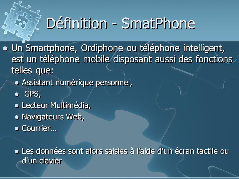 Définition - SmatPhone
