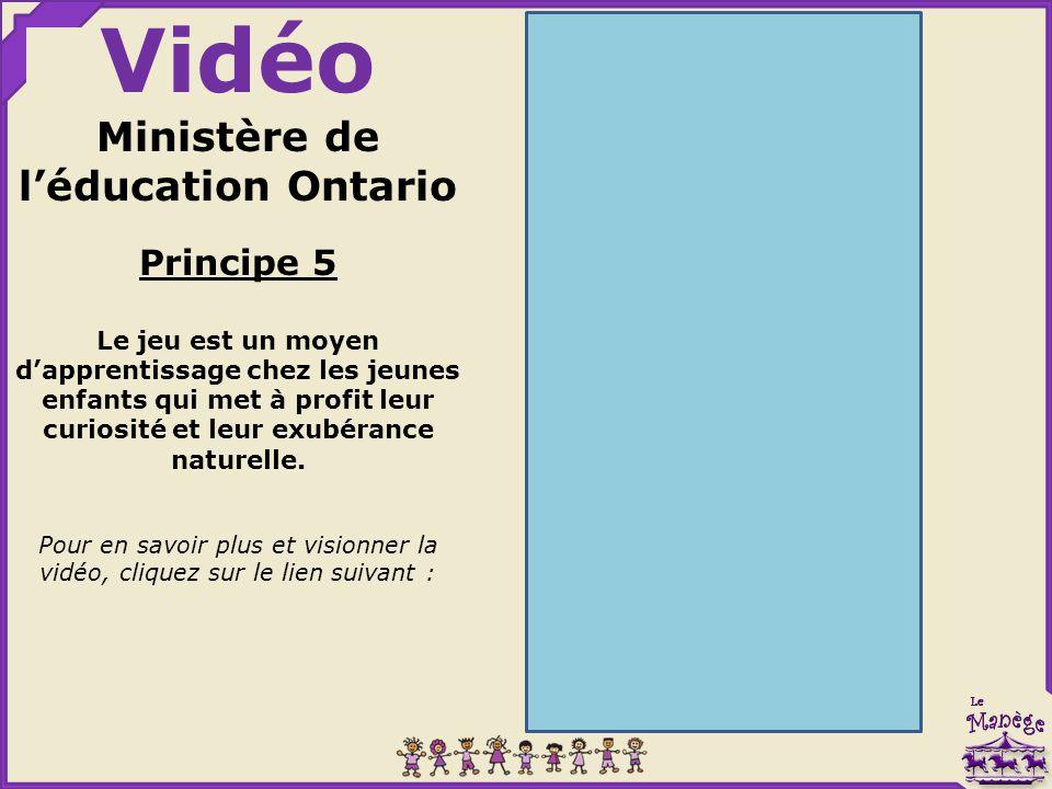 Ministère de l'éducation Ontario