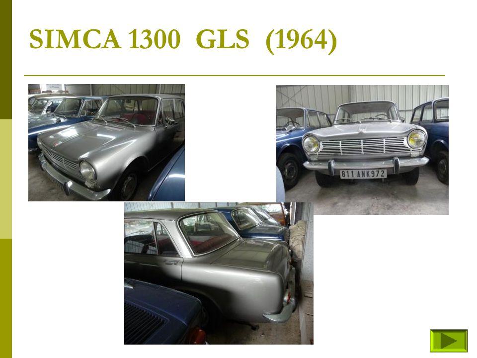 SIMCA 1300 GLS (1964)