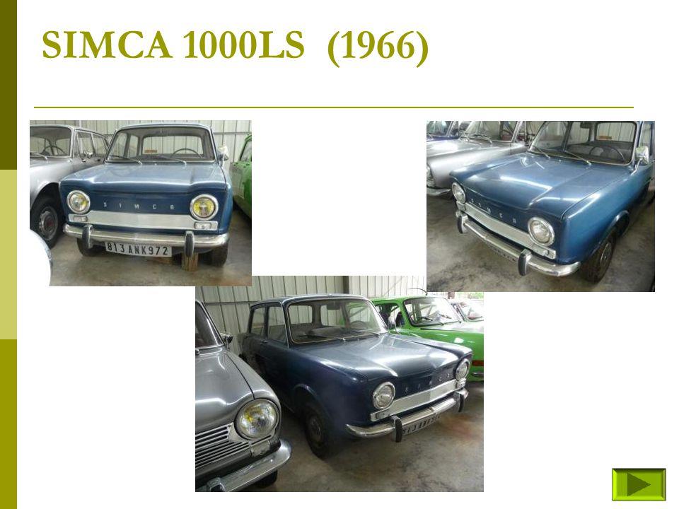 SIMCA 1000LS (1966)