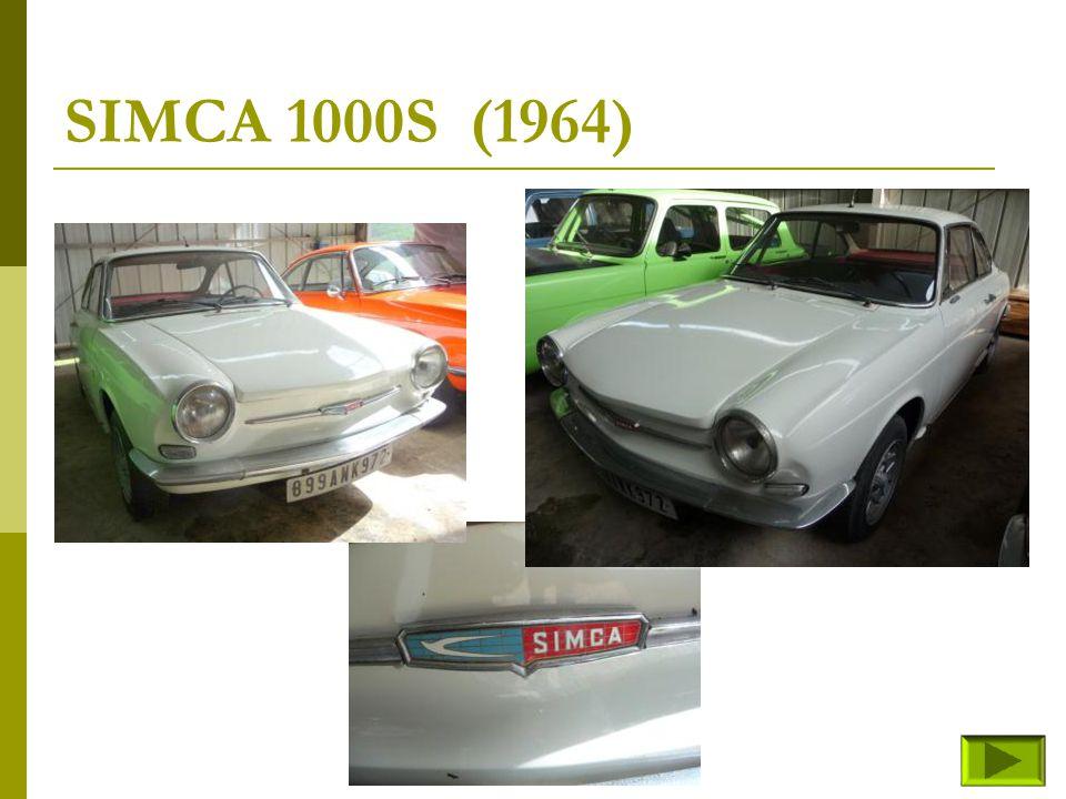 SIMCA 1000S (1964)