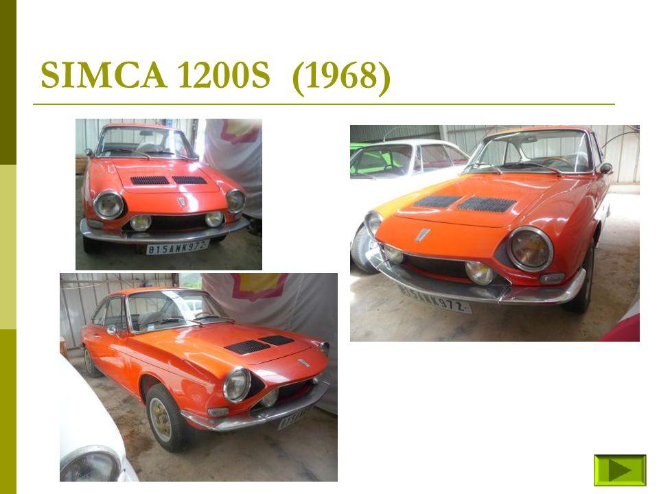 SIMCA 1200S (1968)