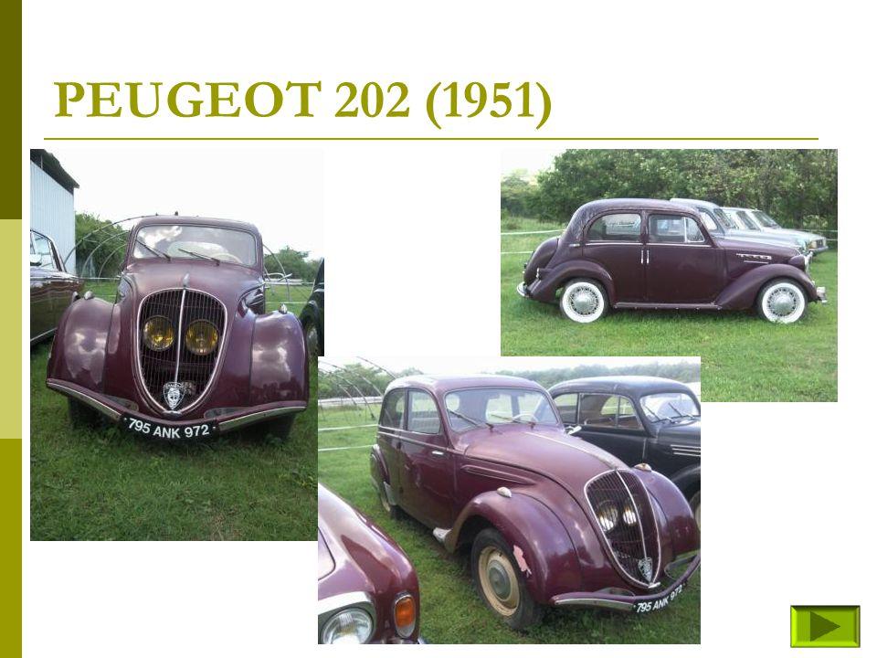 PEUGEOT 202 (1951)