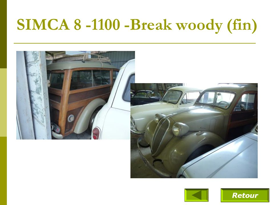 SIMCA 8 -1100 -Break woody (fin)
