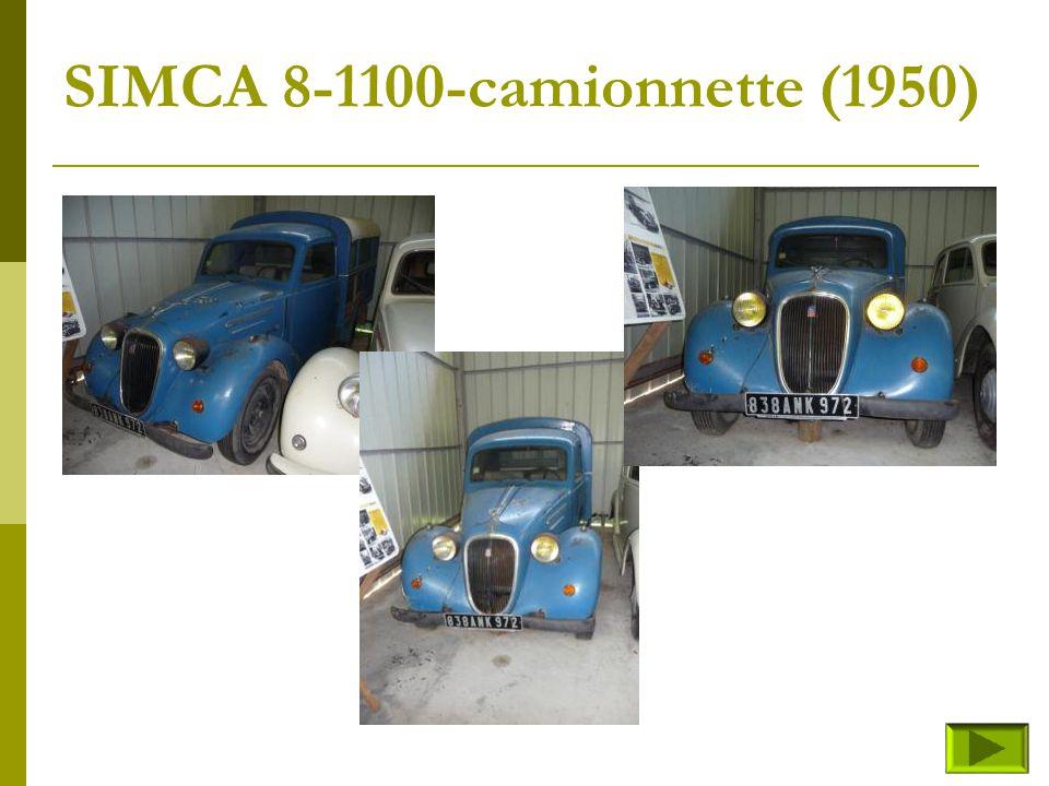 SIMCA 8-1100-camionnette (1950)