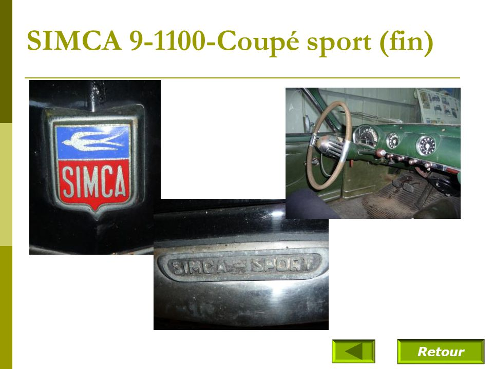 SIMCA 9-1100-Coupé sport (fin)