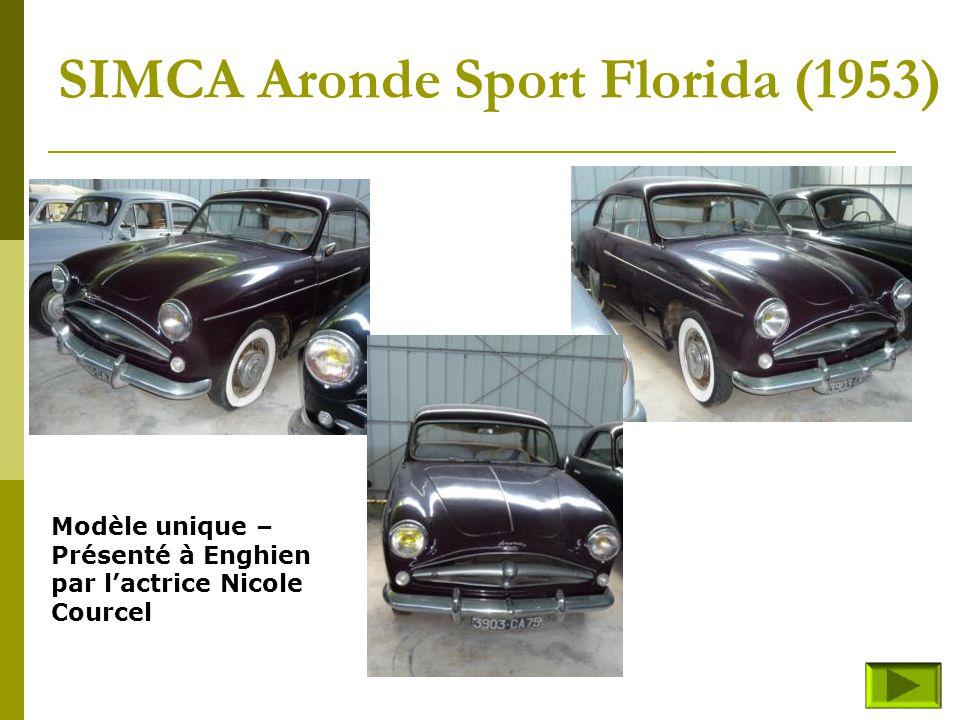 SIMCA Aronde Sport Florida (1953)