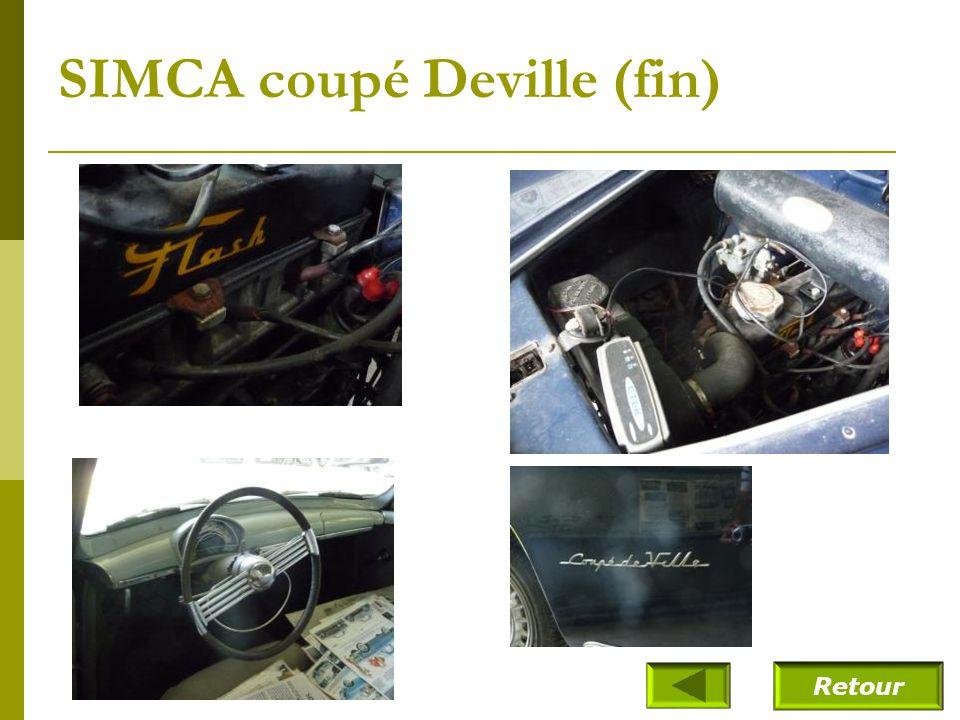 SIMCA coupé Deville (fin)