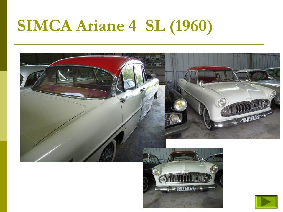 SIMCA Ariane 4 SL (1960)