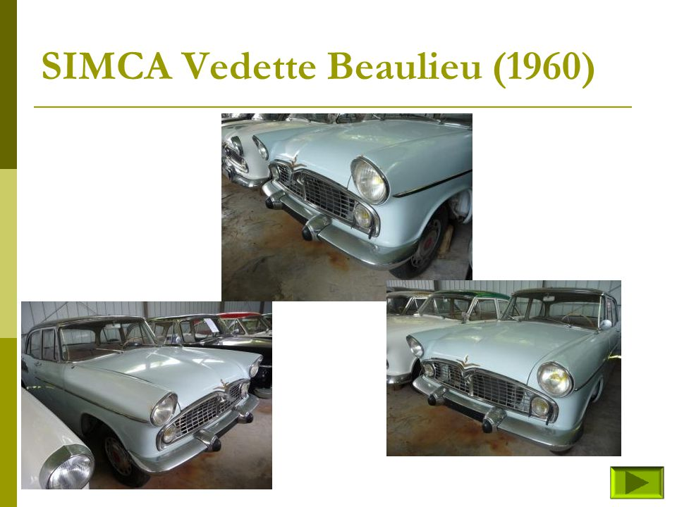 SIMCA Vedette Beaulieu (1960)