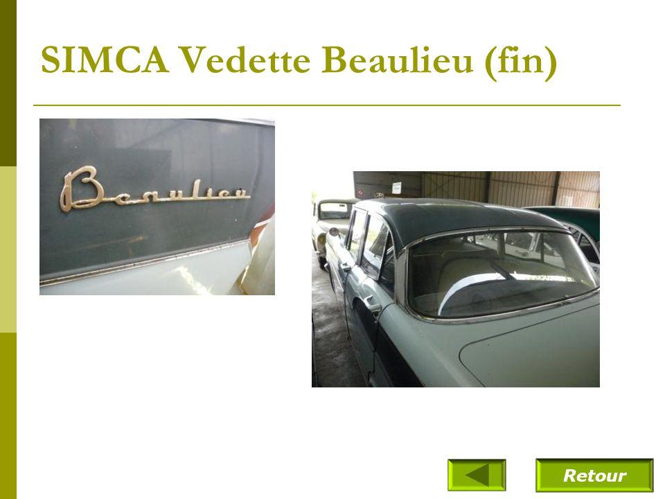 SIMCA Vedette Beaulieu (fin)