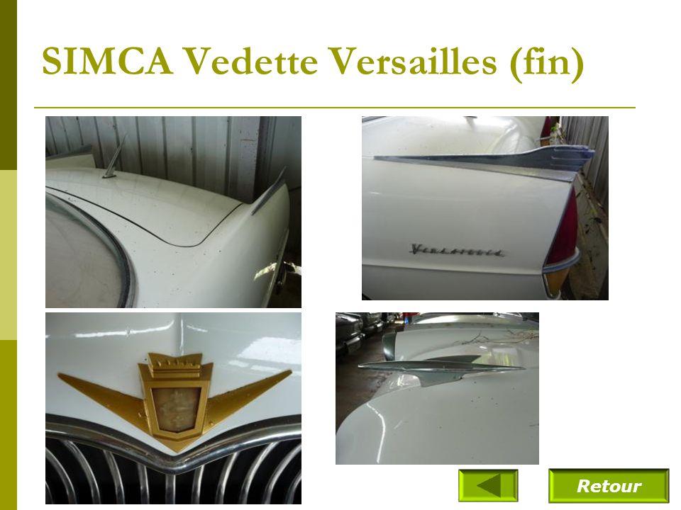 SIMCA Vedette Versailles (fin)
