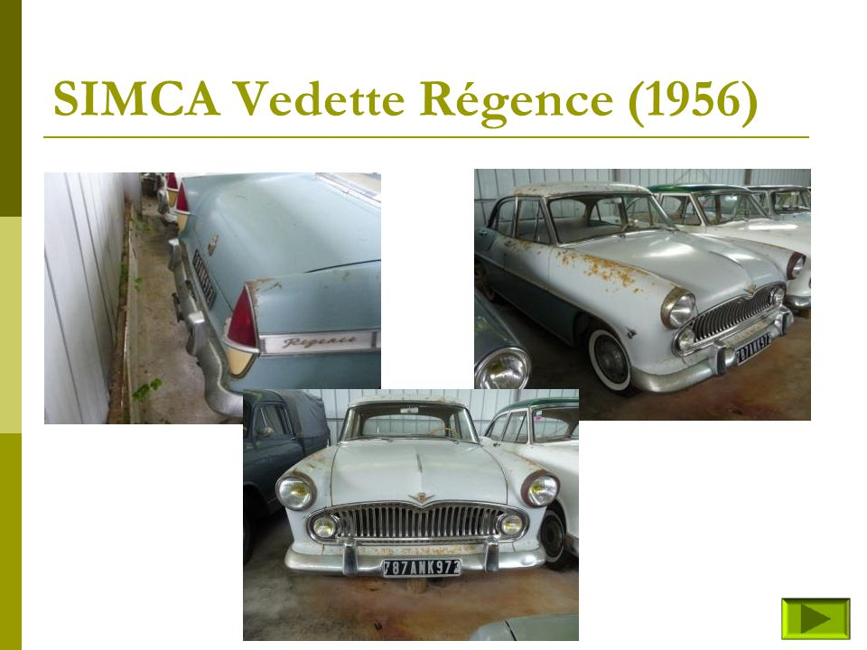 SIMCA Vedette Régence (1956)