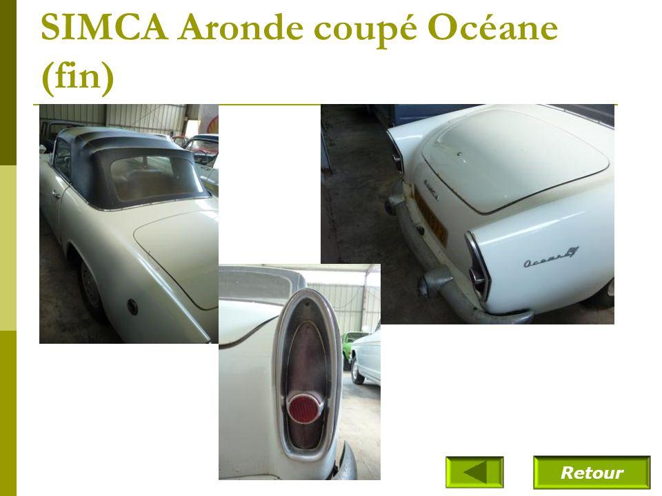 SIMCA Aronde coupé Océane (fin)