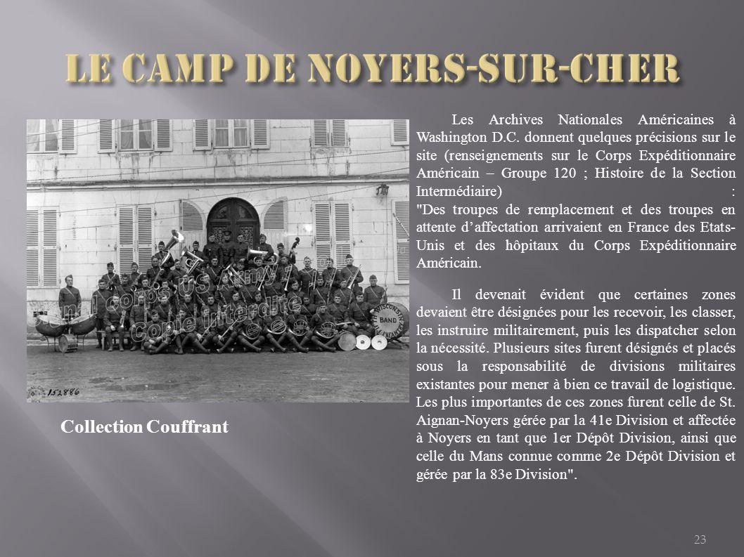Le camp de Noyers-sur-cher
