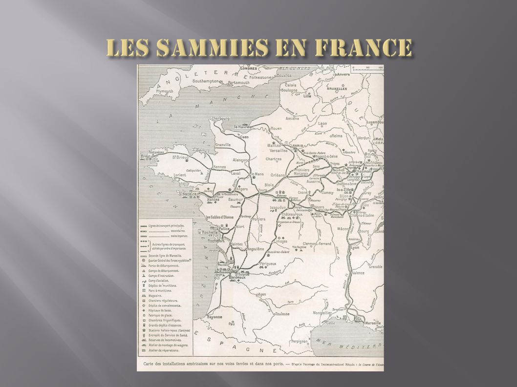 Les Sammies en France