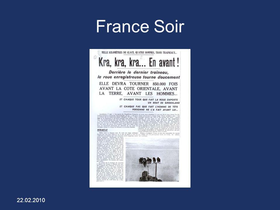 France Soir 22.02.2010