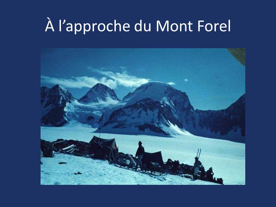 À l'approche du Mont Forel
