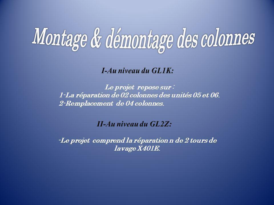 I-Au niveau du GL1K: II-Au niveau du GL2Z:
