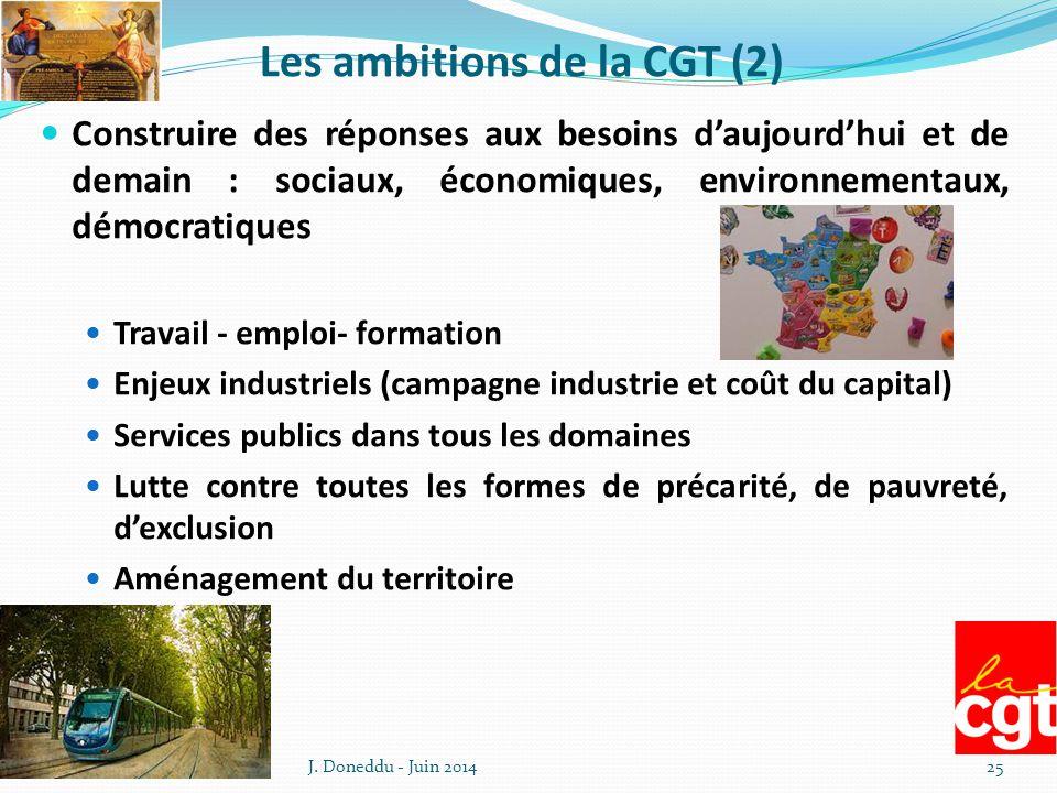 Les ambitions de la CGT (2)