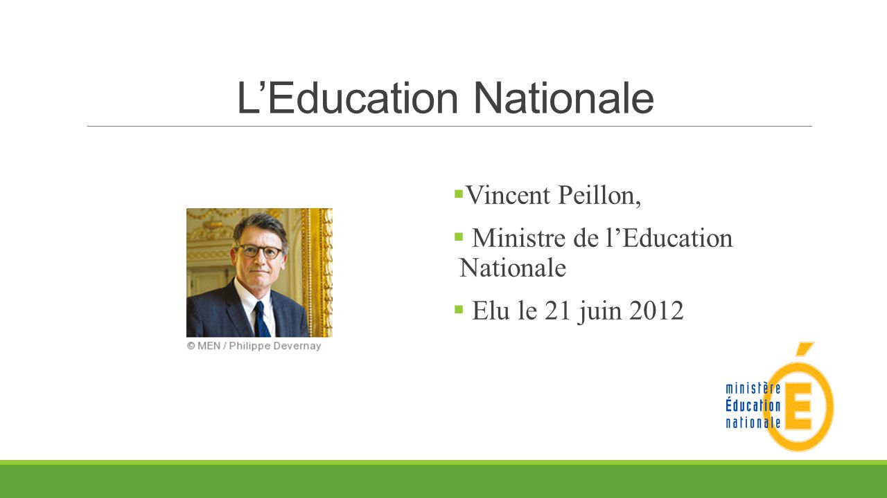 L'Education Nationale