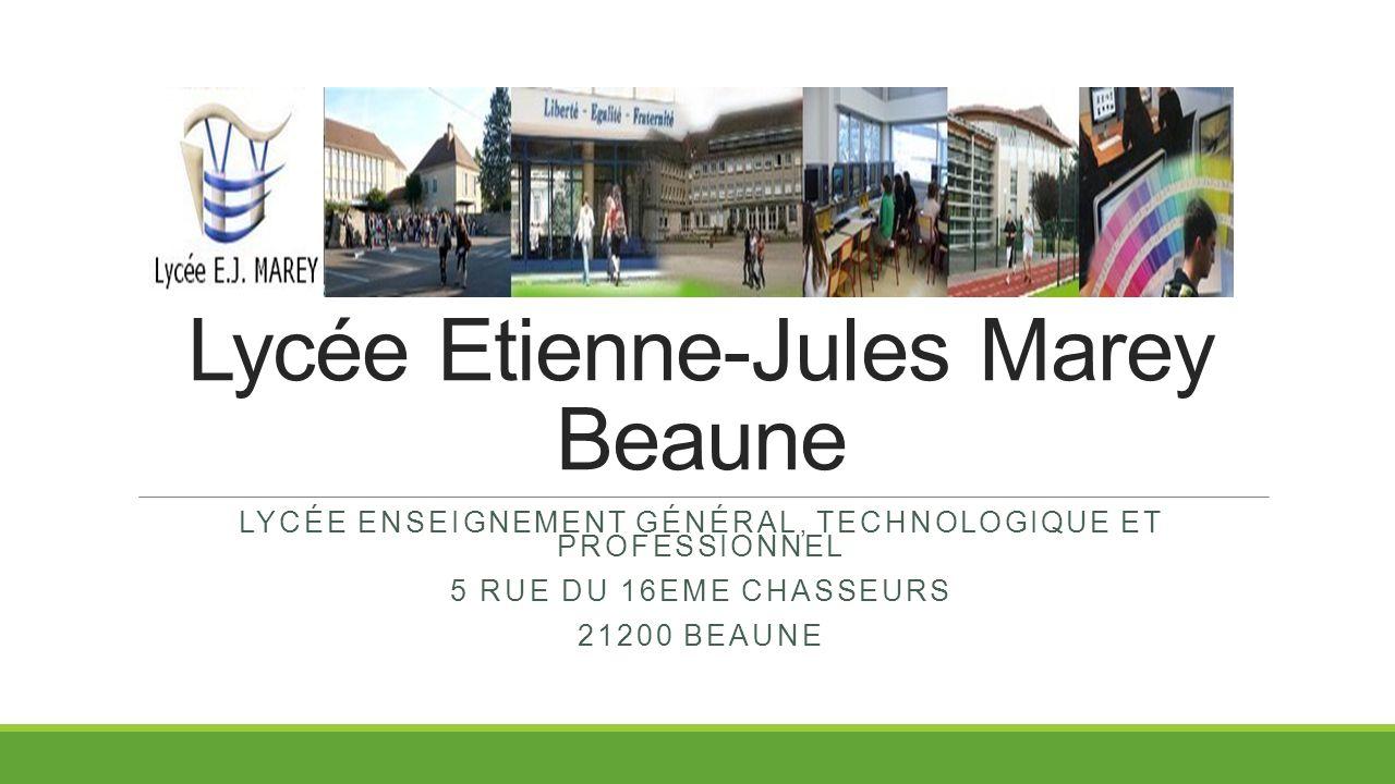 Lycée Etienne-Jules Marey Beaune