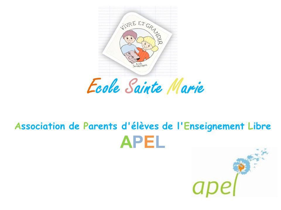 Association de Parents d élèves de l Enseignement Libre APEL