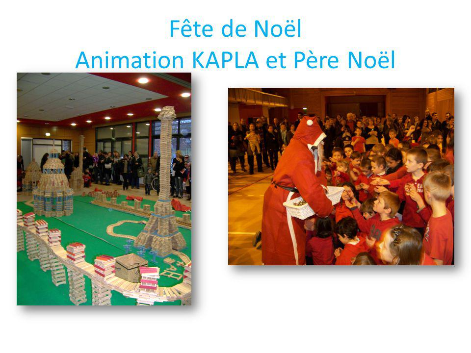 Fête de Noël Animation KAPLA et Père Noël