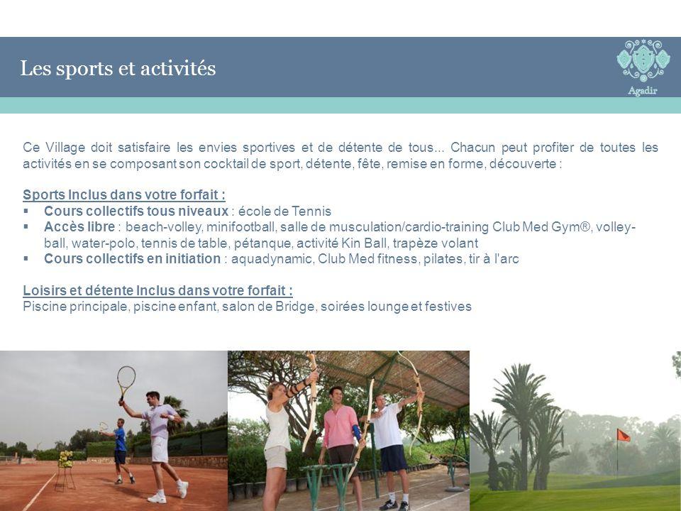 Les sports et activités Les Sports