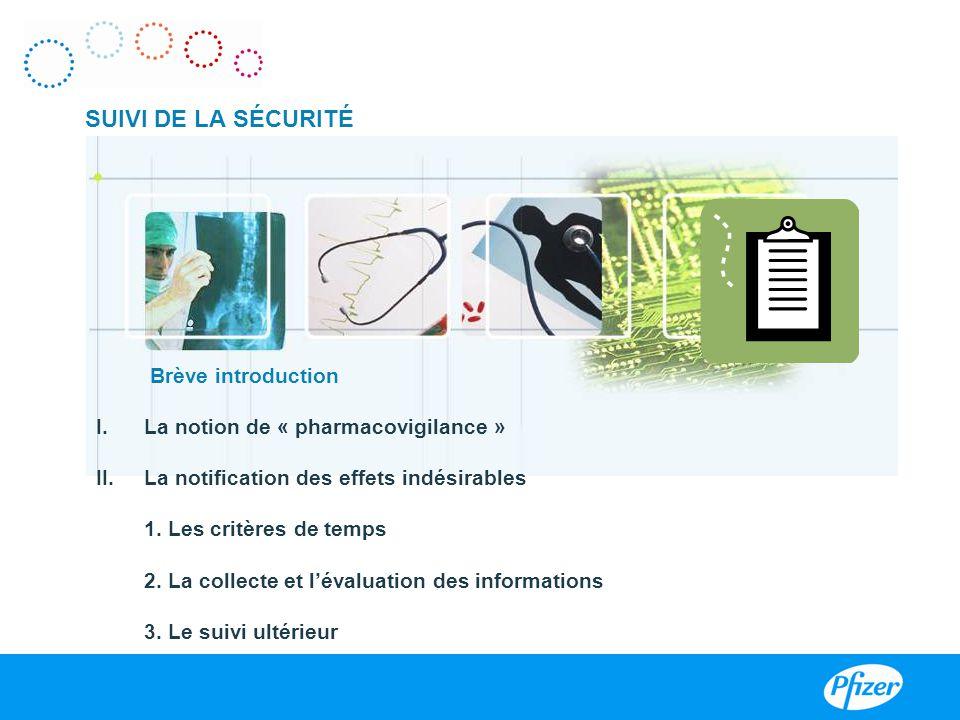 SUIVI DE LA SÉCURITÉ Brève introduction