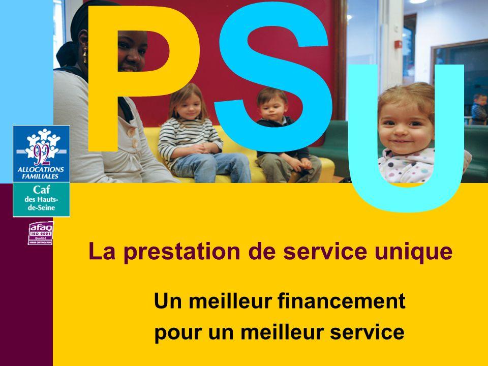 Un meilleur financement pour un meilleur service