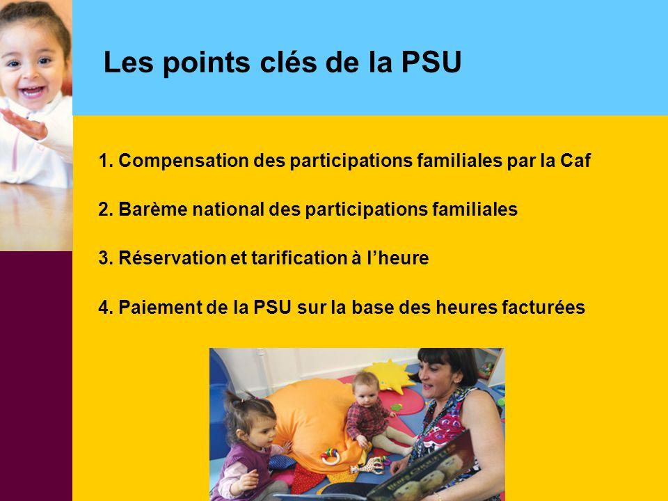 Les points clés de la PSU