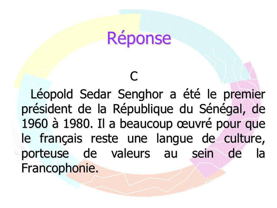 Réponse C.