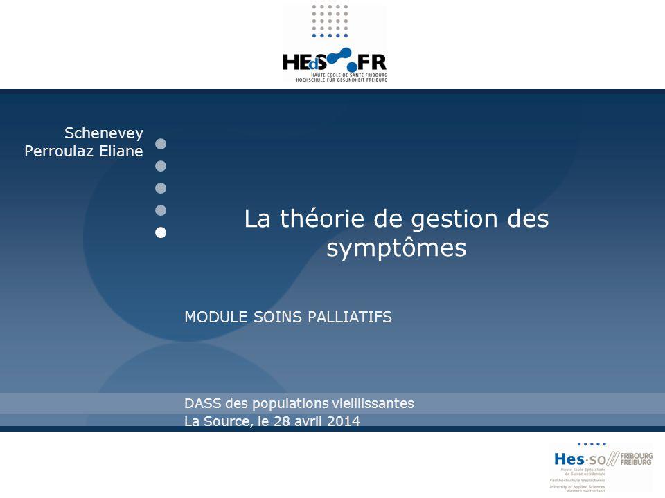 La théorie de gestion des symptômes