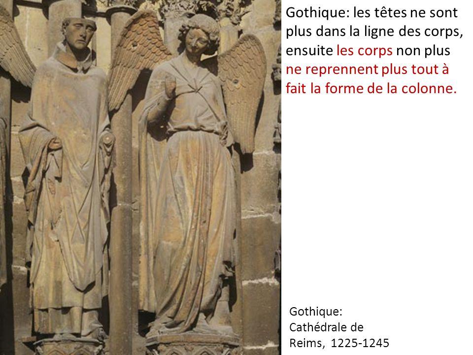 Gothique: Cathédrale de Reims, 1225-1245