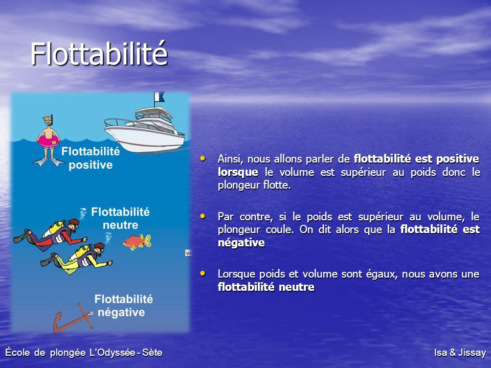École de plongée L Odyssée - Sète Isa & Jissay