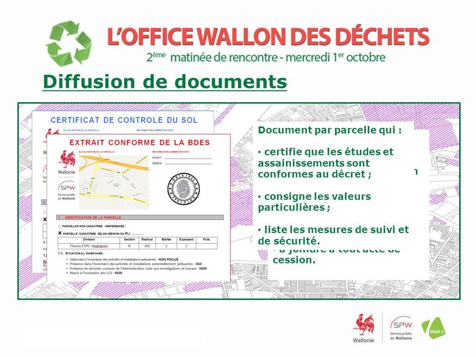 Diffusion de documents