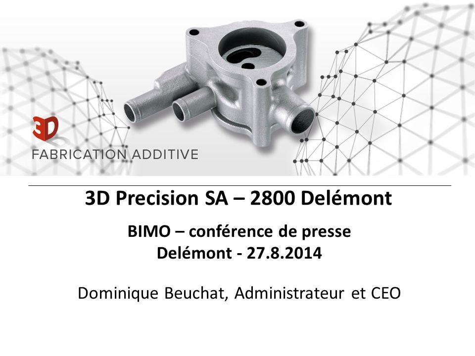 3D Precision SA – 2800 Delémont