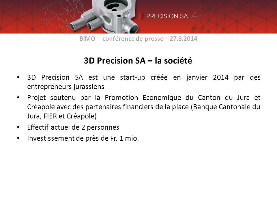 3D Precision SA – la société