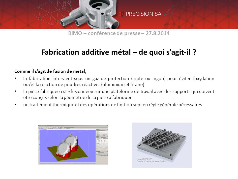 Fabrication additive métal – de quoi s'agit-il