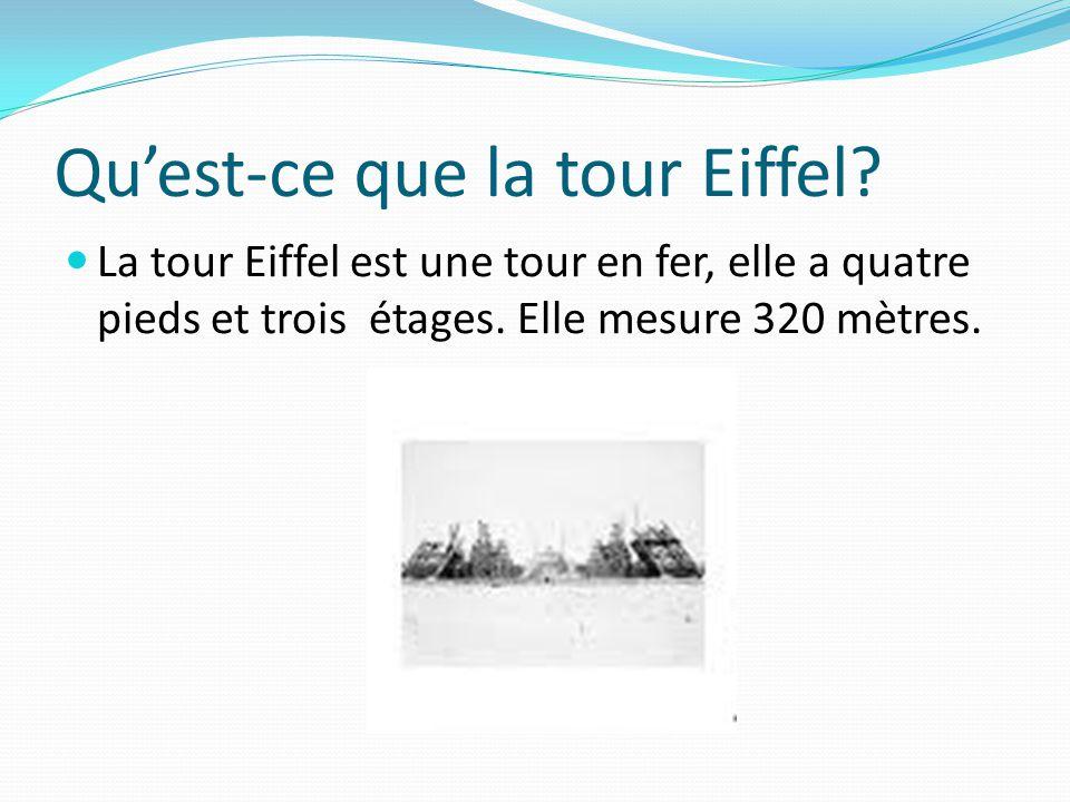 Qu'est-ce que la tour Eiffel