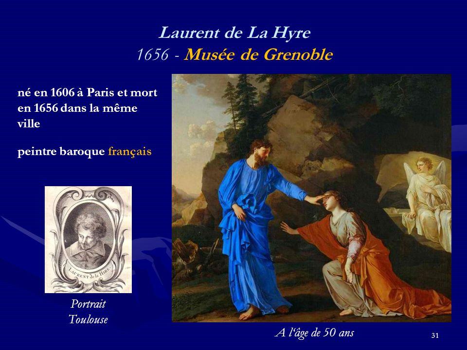 Laurent de La Hyre 1656 - Musée de Grenoble